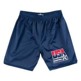 Short de Basketball Team USA 1992 Mitchell & Ness Practice Bleu marine