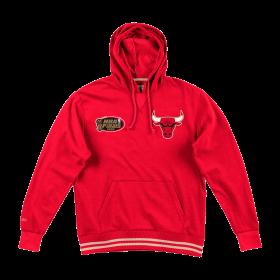 Sudadera NBA Chicago Bulls Mitchell & Ness Bat Around Hoody rojo para hombre