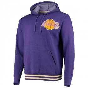 Sweat à capuche NBA Los Angeles Lakers Mitchell & Ness Bat Around Violet pour homme
