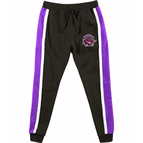 Pantalon NBA Toronto Raptors Mitchell & Ness Final Seconds Fleece Noir