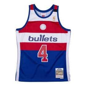 Camiseta NBA Chris Webber Washington Bullets 1996-97 Mitchell & ness NBA swingman Hardwood Classics Azul