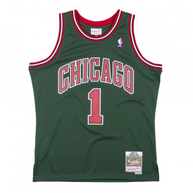 Maillot NBA Dereck rose Chicago Bulls 2008-09 Mitchell & ness Hardwood Classics Vert