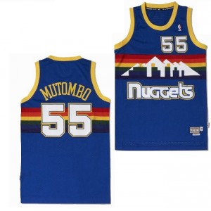 Adidas nba swingman maillot NBA hardwood classics Nuggets Mutombo