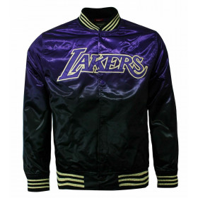 Veste NBA Los Angeles Lakers Mitchell & Ness CNY Satin Violet