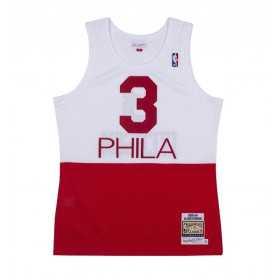 Mitchell & ness NBA Hardwood Classic swingman jersey Allen Iverson Philadelphie Sixers 2003-04 Blanco Rojo