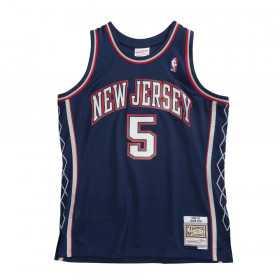 Maillot NBA Jason Kidd New Jersey Nets 2006-07 Mitchell & ness Hardwood Classics Bleu marine