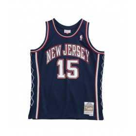 Maillot NBA Vince Carter New Jersey Nets 2006-07 Mitchell & ness Hardwood Classics Bleu marine