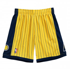 Short NBA Indiana Pacers 1999-00 Mitchell & Ness Swingman Jaune pour homme