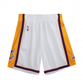 Short NBA Los Angeles Lakers 2009-10 Mitchell & Ness Swingman Blanco