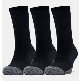 Chaussettes de sport Under Armour Heatgear Tech Crew Noir