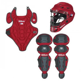 Youth Wilson Catcher Kit Red