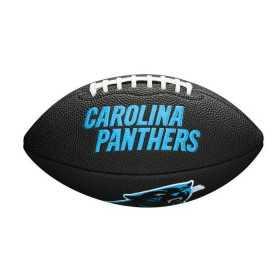 Mini Ballon de Football Américain Wilson NFL team logo Carolina Panthers Noir