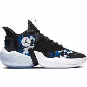 CK6618-004_Chaussure de Basket Jordan React Elevation Noir Camo pour homme
