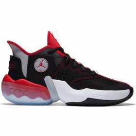 Men's Jordan React Elevation Basketball shoe black Red
