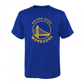 T-shirt NBA Golden State Warriors Primary Logo pour enfant Bleu