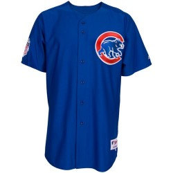Majestic Replica Jersey Chicago Cubs Bleu