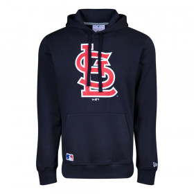 Men's New Era Team logo Hoody MLB St. Louis Cardinals Navy