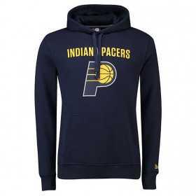 Sweat à Capuche NBA Indiana Pacers New Era Team logo Bleu marine