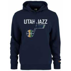 Sweat à Capuche NBA Utah Jazz New Era Team logo Bleu marine