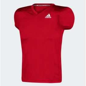 Maillot de football américain adidas Rouge pour homme