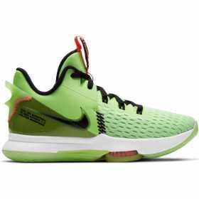 """Chaussure de Basketball Nike LeBron Witness 5 """"Volt"""""""