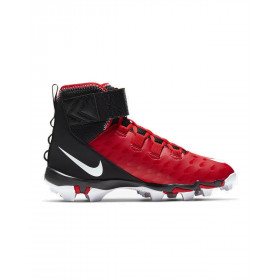 Crampons de Football Americain moulés Nike Force Savage 2 Shark Rouge