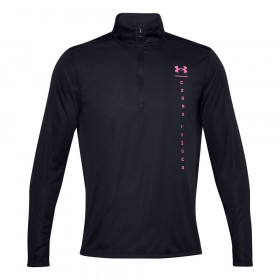 Sweat zip 3/4 Under armour Speed Stride Shock Noir
