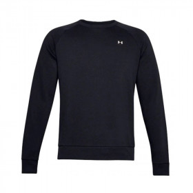 Sweat Under armour Rival Fleece crew neck noir