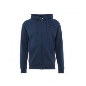 Sweat à capuche Zippé Under armour Rival Fleece bleu marine