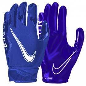 Gant de football américain Nike vapor Jet 6.0 Bleu pour receveur