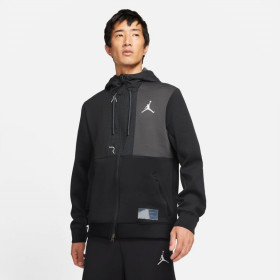 Veste à capuche Zippé Jordan Fleece Air Noir
