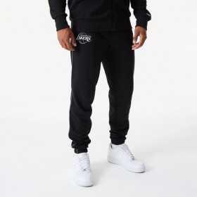 Pantalon NBA Los Angeles Lakers New Era Fade Logo Noir pour Homme