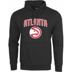 Sweat à Capuche NBA Atlanta Hawks New Era Team logo Noir