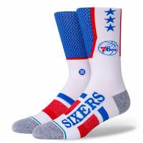 Chaussettes NBA Philadelphia 76ers Stance Arena Short cut 2 Bleu