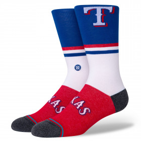 Chaussettes MLB Texas Rangers Stance Color Blanc