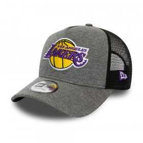 Casquette NBA Los Angeles Lakers New Era Jersey Trucker Gris