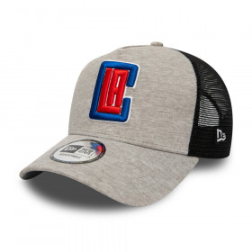 Casquette NBA Los Angeles Clippers New Era Jersey Trucker Gris