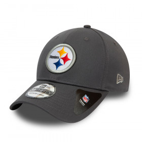 Casquette NFL Pittsburgh Steelers New Era Team 39Thirty Gris