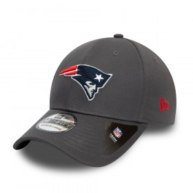 Casquette NFL New England Patriots New Era Team 39Thirty Gris