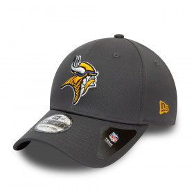 Casquette NFL Minnesota Vikings New Era Team 39Thirty Gris