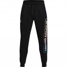 Pantalon Under Armour Rival Fleece Lockertag Noir