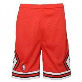 Kids' Mitchell & Ness NBA Short Chicago Bulls 1997 red