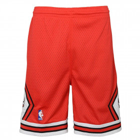 Short NBA Chicago Bulls 1997 Mitchell & Ness Rouge pour enfant