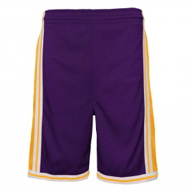 Short NBA Los Angeles Lakers 1984 Mitchell & Ness Violet pour enfant
