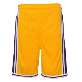 Short NBA Los Angeles Lakers 1996 Mitchell & Ness Jaune pour enfant