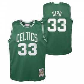 Kid's Mitchell & Ness NBA Hardwood Classic NBA Jersey Larry Bird Boston Celtics 1985 Green