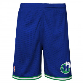 Short NBA Dallas Mavericks 1998 Mitchell & Ness Bleu pour enfant