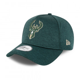 Casquette NBA Milwaukee Bucks New Era Tonal Team Trucker Vert