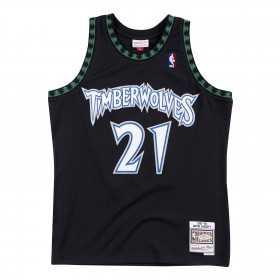 Maillot NBA Kevin Garnett Minnesota Timberwolves 1997-98 Mitchell & ness hardwood classic Noir