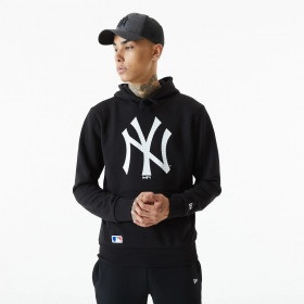 Men's New Era Infill Logo Hoody MLB New York Yankees Black